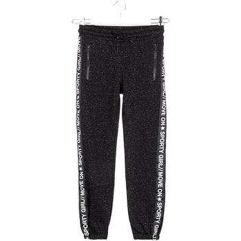 Abbigliamento Bambina Pantaloni da tuta Losan 024-6010AL Nero