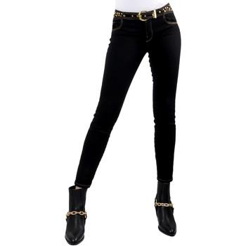 Abbigliamento Donna Jeans slim Versace A1HVB02HAPV4P899 Nero