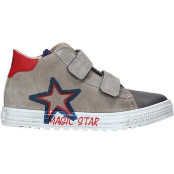 Scarpe Unisex bambino Sneakers alte Naturino 2015394 01 Grigio
