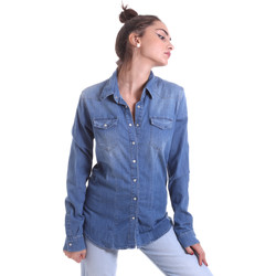 Abbigliamento Donna Camicie Fornarina BE174577D884AS Blu