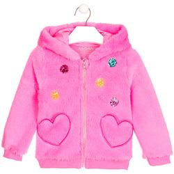 Abbigliamento Bambina Gilet / Cardigan Losan 026-0000AL Rosa