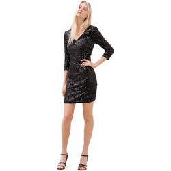 Abbigliamento Donna Abiti corti Fracomina F120W14034W01985 Nero