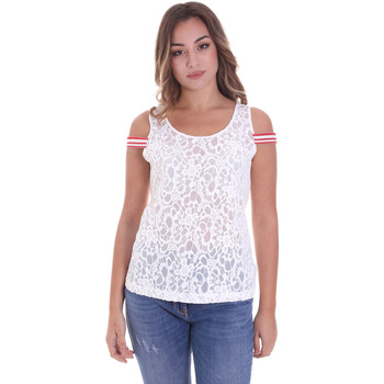 Abbigliamento Donna Top / Blusa Fornarina BE175J89JG1309 Bianco