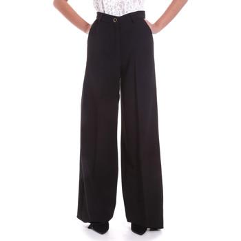 Abbigliamento Donna Pantaloni morbidi / Pantaloni alla zuava Fracomina F120W10069W05301 Nero
