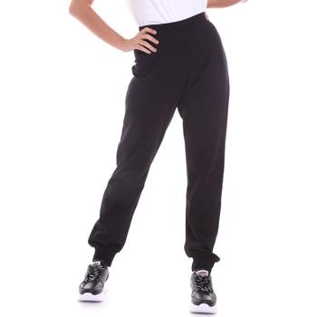 Abbigliamento Donna Pantaloni Key Up 5FI47 0001 Nero