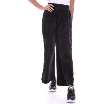 Abbigliamento Donna Pantaloni morbidi / Pantaloni alla zuava Key Up 5CS54 0001 Nero