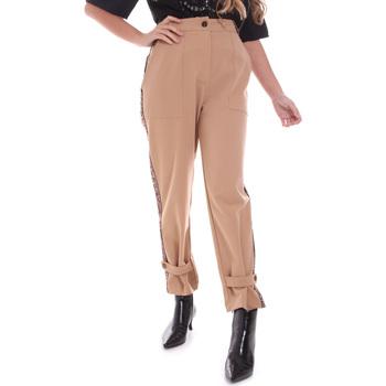 Abbigliamento Donna Chino Gaudi 021FD25004 Beige
