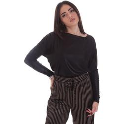 Abbigliamento Donna T-shirts a maniche lunghe Gaudi 021FD64014 Nero