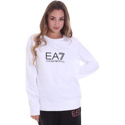 Abbigliamento Donna Felpe Ea7 Emporio Armani 8NTM39 TJ31Z Bianco