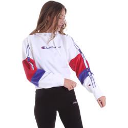 Abbigliamento Donna Felpe Champion 113338 Bianco