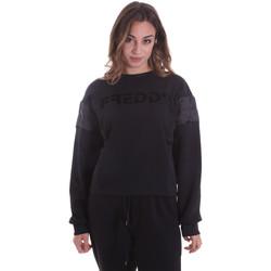 Abbigliamento Donna Felpe Freddy F0WTBS1 Nero