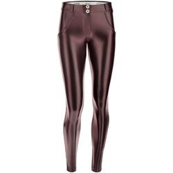 Abbigliamento Donna Leggings Freddy WRUP2RS925 Marrone