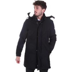 Abbigliamento Uomo Cappotti Sseinse GBI684SS Nero