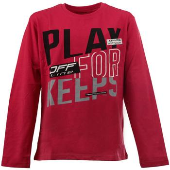 Abbigliamento Unisex bambino T-shirts a maniche lunghe Losan 023-1627AL Rosso