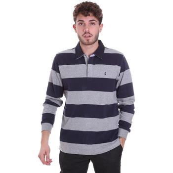 Abbigliamento Uomo Polo maniche lunghe Navigare NV30029 Blu