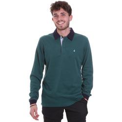 Abbigliamento Uomo Polo maniche lunghe Navigare NV32023 Verde
