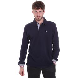 Abbigliamento Uomo Polo maniche lunghe Navigare NV32023 Blu