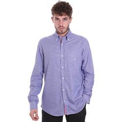 Abbigliamento Uomo Camicie maniche lunghe Navigare NV91133 BD Blu
