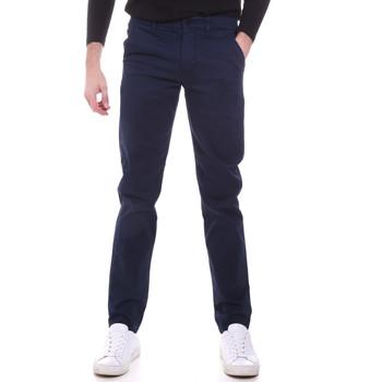 Abbigliamento Uomo Chino Sseinse PSI646SS Blu