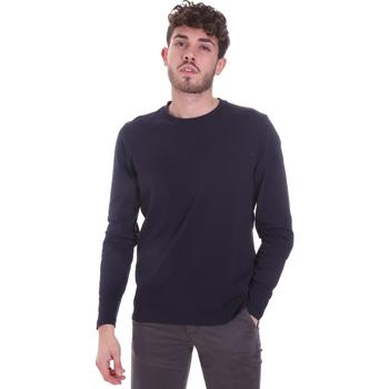 Abbigliamento Uomo T-shirts a maniche lunghe Sseinse MI1691SS Blu
