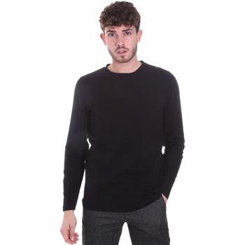 Abbigliamento Uomo T-shirts a maniche lunghe Sseinse MI1691SS Nero