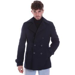 Abbigliamento Uomo Cappotti Sseinse GBI625SS Blu