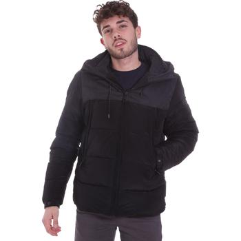 Abbigliamento Uomo Piumini Sseinse GBI646SS Nero