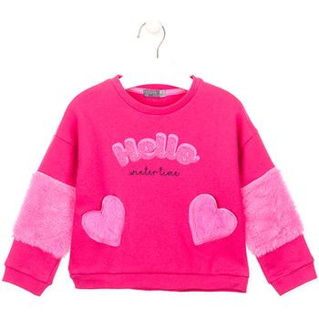 Abbigliamento Bambina Felpe Losan 026-6023AL Rosa