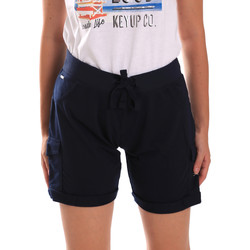 Abbigliamento Donna Shorts / Bermuda Key Up 5G75F 0001 Blu
