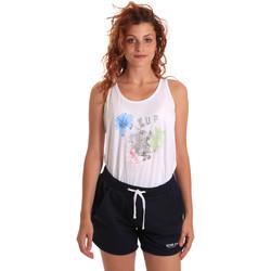 Abbigliamento Donna Tuta Key Up 5K78A 0001 Bianco