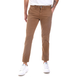 Abbigliamento Uomo Chino Gaudi 011BU25022 Beige