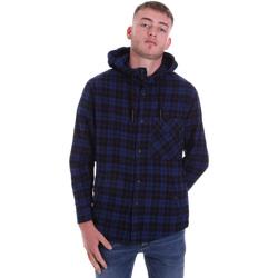Abbigliamento Uomo Camicie maniche lunghe Antony Morato MMSL00636 FA410149 Blu