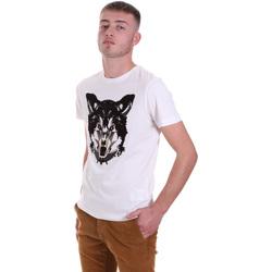 Abbigliamento Uomo T-shirt maniche corte Antony Morato MMKS01878 FA100144 Bianco