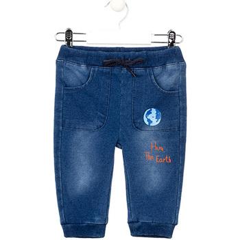 Abbigliamento Bambina Jeans slim Losan 027-6017AL Blu
