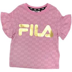 Abbigliamento Bambina T-shirt maniche corte Fila 688038 Rosa