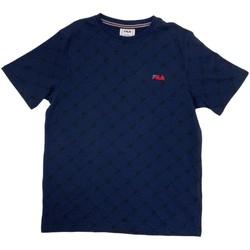 Abbigliamento Bambino T-shirt maniche corte Fila 688084 Blu