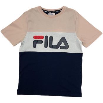 Abbigliamento Unisex bambino T-shirt maniche corte Fila 688141 Rosa