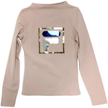 Abbigliamento Unisex bambino T-shirts a maniche lunghe Fila 688102 Beige