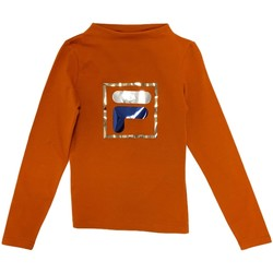 Abbigliamento Unisex bambino T-shirts a maniche lunghe Fila 688102 Arancio