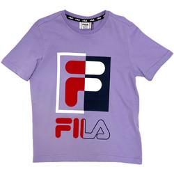 Abbigliamento Unisex bambino T-shirt maniche corte Fila 688149 Viola