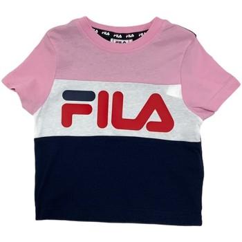 Abbigliamento Unisex bambino T-shirt maniche corte Fila 688023 Rosa