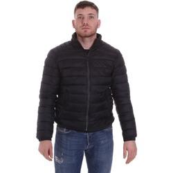 Abbigliamento Uomo Piumini Sseinse GBI635SS Nero