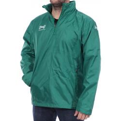 Abbigliamento Uomo giacca a vento Hungaria H-15TMUXW000 Verde