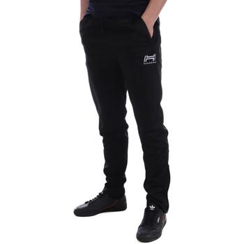 Abbigliamento Uomo Pantaloni da tuta Hungaria H-16BPUXJ000 Nero