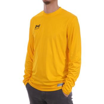 Abbigliamento Uomo T-shirts a maniche lunghe Hungaria H-15TMUUCA00 Giallo
