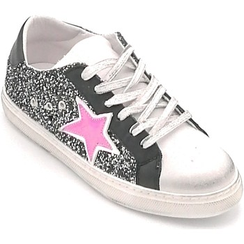 Scarpe Donna Sneakers basse In My Shoes IN101R Nero-fuxia