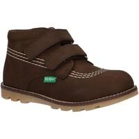 Scarpe Unisex bambino Stivaletti Kickers 654243-10 NONOMATIC Verde