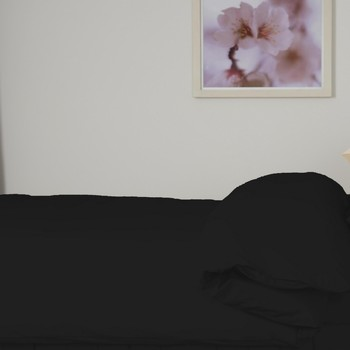 Casa Completo letto Belledorm Double BM102 Nero