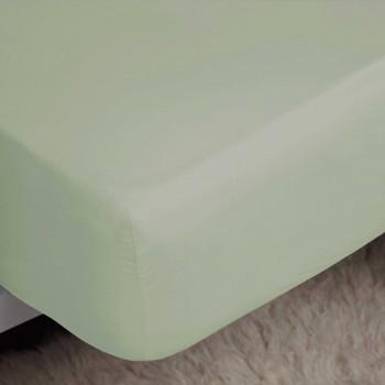 Casa Lenzuolo con angoli Belledorm Single Verde