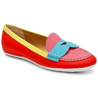 Scarpe Donna Mocassini Marc Jacobs SAHARA SOFT CALF Multicolore